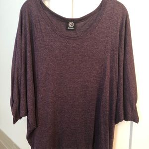 Bobeau Plum dolman sweater